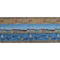 Bande Tissu Patchwork Le Port de Makower