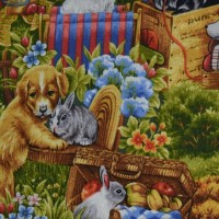Tissu Furry friend   112/24411 PB