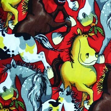 Tissu Les chevaux  112/23491 PB