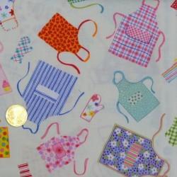 Tissu patchwork Les Tabliers de Makower