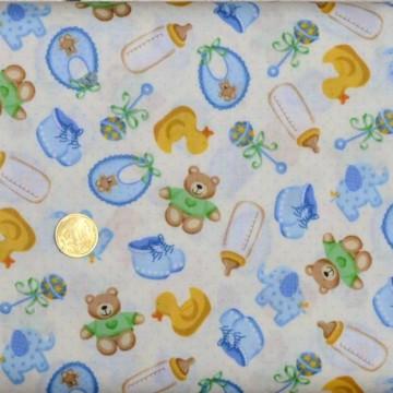 Tissu patchworK Baby Scatter de makower