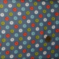 Tissu  Les  Boutons de makower