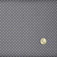 Tissu Spot gris foncé de Makower