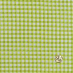 Tissu vichy vert  de makower