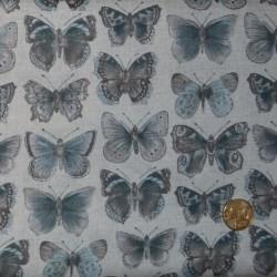 Tissu Vintage butterflies