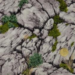 Tissu Les rochers de  Makower