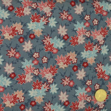 Tissu Série Sakura Maple Leaf