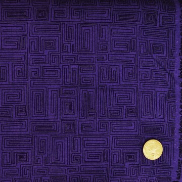Tissu labyrinthe  makower