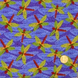 Tissu Les Libellules