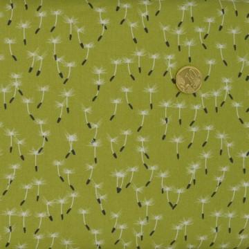 Tissu  Meadow Dandelion seed