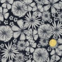 Tissu  Meadow Daisy Chain