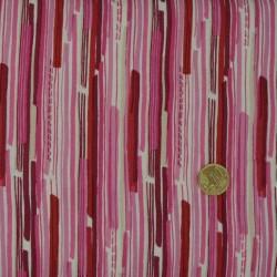 Tissu Modern Christmas Broken Stripe