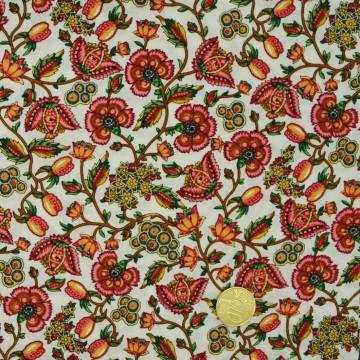 Tissu fleuri 2139/129