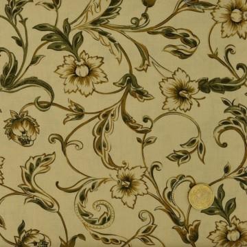Tissu arabesque floral MaywoodStudio