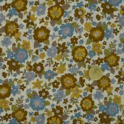 Tissu Frou Frou les fleuris