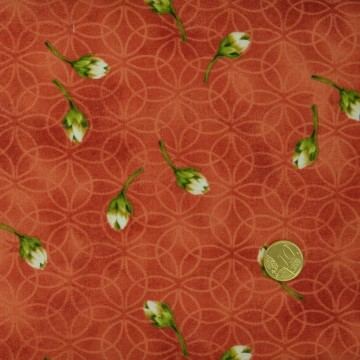 Tissu Boutons de rose