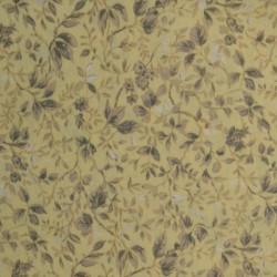 Tissu ramage de feuilles