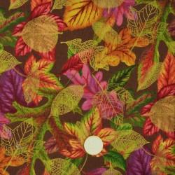 Tissu A New leaf by Ro Greff