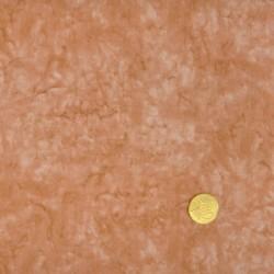 Tissu faux uni marbré saumon