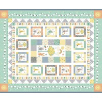 Panneau  patchworK Baby Jungle de makower