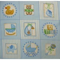 vignette nursery bleu Makower