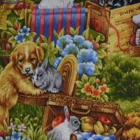 Tissu Furry friend   112/24411 PB