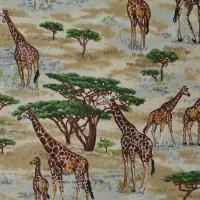 Tissu peau de girafe