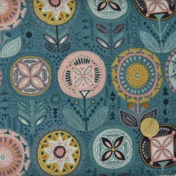 Tissu Sophia Flower  de makower
