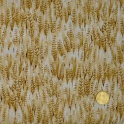 Tissu Les plumes classic cotton