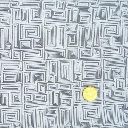 Tissu Effet Labyrinthe de Makower