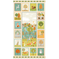 Panneau  patchworK Dragon de makower