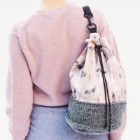 PATRON besace combinée tricot 2319-A15